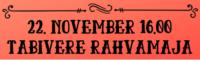 22. november Tabivere Rahvamaja