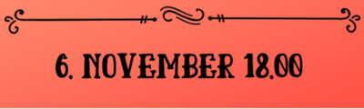 Osta pilet 6. november