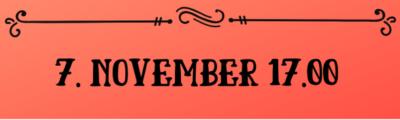 Osta pilet 7. november