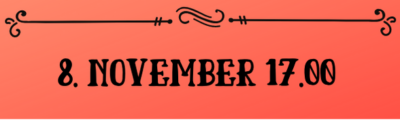 Osta pilet 8. november